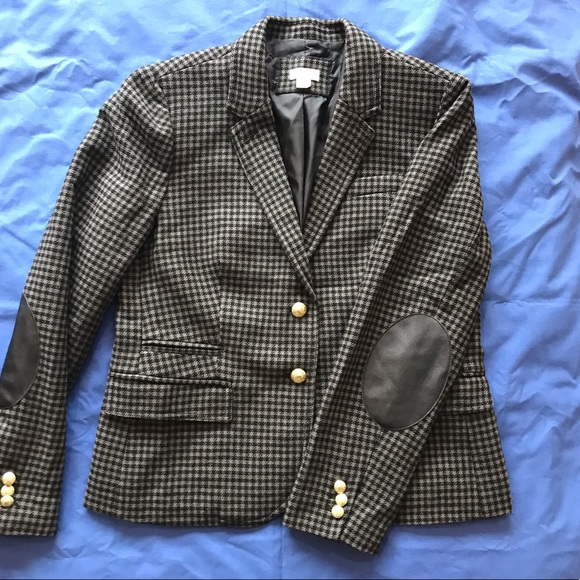 c1bc2a5eb46 J. Crew Jackets & Coats   Jcrew Wool Blazer Houndstooth   Poshmark